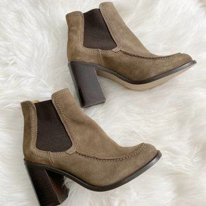 NEW Shelly's London 'Ashley' Suede Ankle Boot 38
